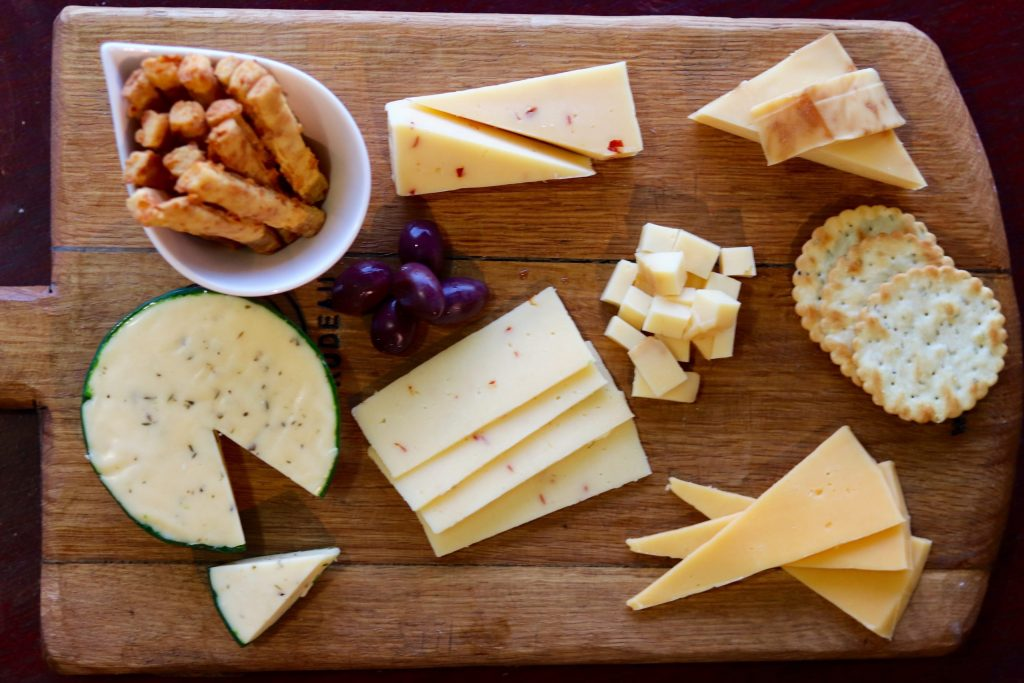 Cheese At Home platter